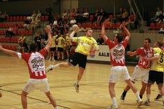 AaB Handball - Ikast FS Royalty Free Stock Images
