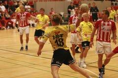 AaB Handball - Ikast Rumpfstation Stockbild