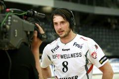 AaB Handball - KIF Kolding Stock Images