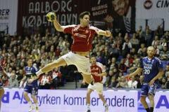 AaB Handball - Lemvig-Thyborøn Handball Stock Images