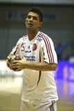 AaB Handball - MOR-Thy Handball Lizenzfreies Stockfoto