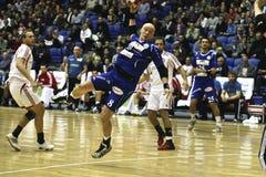 AaB Handball - Mors-Thy Handball Royalty Free Stock Photography