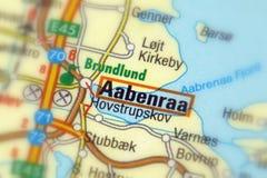 Aabenraa Danmark - Europa Arkivfoton