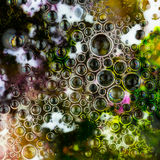Aabstract  background with bubbles Stock Image