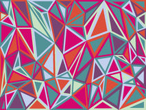 Aabstract Triangle Geometrical Multicolored. Abstract Triangle Geometrical Multicolored Background Royalty Free Illustration