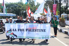 AACC per la Palestina Immagini Stock Libere da Diritti