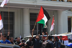 AACC per la Palestina Immagine Stock