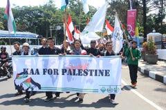 AACC pour la Palestine Images libres de droits