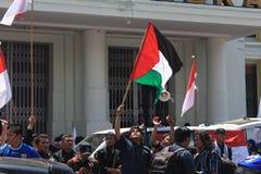 AACC pour la Palestine Image stock