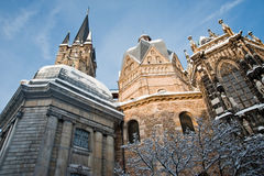 Aachen Cathedral Royalty Free Stock Photo