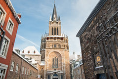 Aachen Cathedral Stock Images