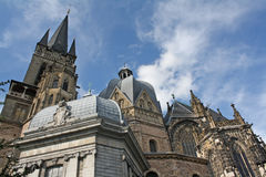 Aachen Cathedral Stock Photography