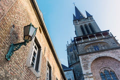 Aachen Cathedral in Aachen, Germany Stock Images