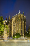 Aachen Cathedral Choir At Night Stock Photos