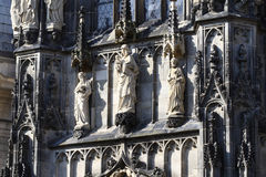 Aachen Cathedral detail, Germany Royalty Free Stock Images