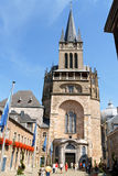Aachen Cathedral in Germany Royalty Free Stock Photos