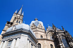 Aachen Cathedral Stock Image