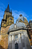 Aachen cathedral Stock Photos