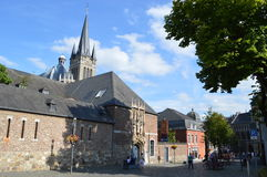 Aachen cathedral Royalty Free Stock Photos