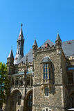 Aachen City Hall. Historical City Hall in Aachen, Germany stock photo