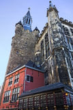 Aachen city hall Stock Photo