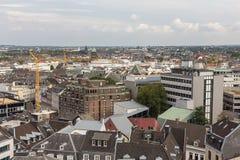 Aachen cityscape Royaltyfri Foto