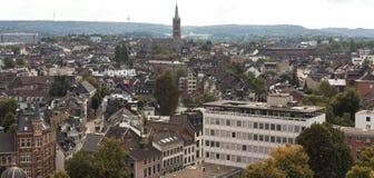 Aachen cityscape Arkivbilder