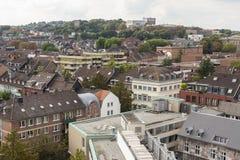 Aachen cityscape Arkivfoto