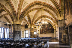 Aachen coronation hall Royalty Free Stock Image