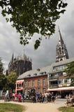 Aachen domkyrka Arkivfoton