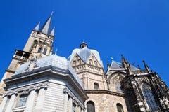 Aachen domkyrka Fotografering för Bildbyråer