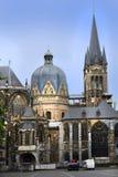 Aachen domkyrka Royaltyfria Bilder