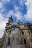 Aachen domkyrka Arkivfoto