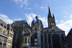 Aachen domkyrka Royaltyfria Foton