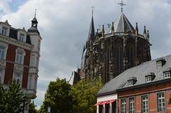 Aachen domkyrka Arkivbilder