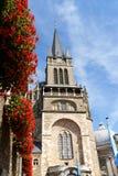 Aachen domkyrka i Tyskland Arkivfoto