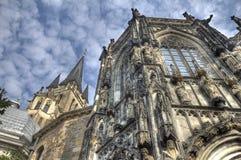 Aachen domkyrka i Tyskland Royaltyfri Bild