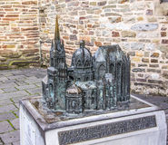 Aachen domkyrka, modell Royaltyfri Foto