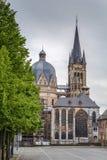 Aachen domkyrka, Tyskland Arkivfoto