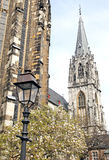 Aachen domkyrka, Tyskland Arkivbilder