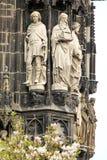Aachen domkyrka, Tyskland Royaltyfri Fotografi