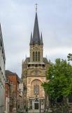 Aachen domkyrka, Tyskland Royaltyfria Foton