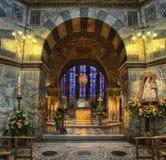 Aachen domkyrkaTyskland Royaltyfri Bild