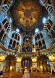 Aachen domkyrkaTyskland Royaltyfria Bilder