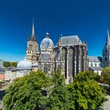 aachen germany Royaltyfria Foton