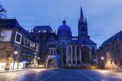 Aachen-Kathedrale in Aachen Stockbilder