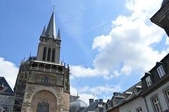 Aachen-Kathedrale Stockfoto
