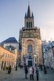 Aachen-Kathedrale in Aachen, Deutschland Stockbilder