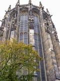 Aachen-Kathedrale, Deutschland, Äußere Ansicht des gotischen Chores lizenzfreie stockfotos