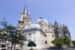 Aachen-Kathedrale in Deutschland Stockfoto